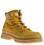 Stokton Veterschoenen geel
