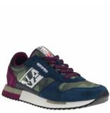 Napapijri Sneakers camouflage blauw