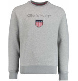 Gant Shield c-neck sweat 2046004/93 grijs