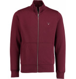 Gant Original full zip cardigan 2046015/605 bordeaux
