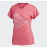 Adidas Ss bos logo tee eb4499 rood