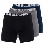The BLUEPRINT The blueprint boxershort 3-pack