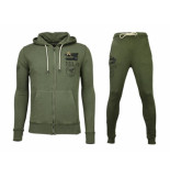 Bread & Buttons Trainingspakken basic army joggingpak