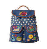Oilily Big backpack moon&back embroidery-