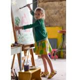 Oilily Groen vestje met lurex voor meisjes-