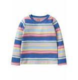 Oilily Heliot sweater 54 multi stripes- blauw