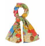 Oilily Jersey sjaal voor meisjes- blauw