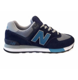New Balance Sneakers 574 blauw