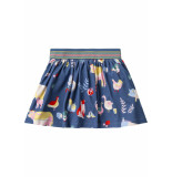 Oilily Tennessee jersey skirt 55 farm- blauw