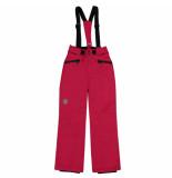 Color Kids Rasberry pink skibroek sanglo met 8.000mm waterkolom rood