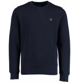 Gant Original c-neck sweat 2046010/433 blauw