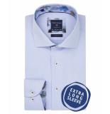 Profuomo Ppqh3a1129 business overhemden met extra lange mouwen 100% katoen blauw