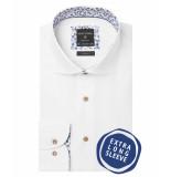 Profuomo Ppqh3a0068 business overhemden met extra lange mouwen 100% katoen