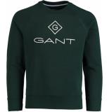 Gant Lock up c-neck sweat 2046062/374 groen