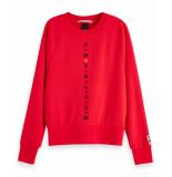 Maison Scotch Sweatshirt 153793 rood