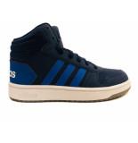 Adidas Hoops mid 2.0 kids blauw