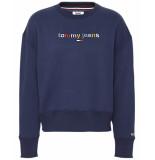 Tommy Hilfiger Sweatshirt dw0dw07545 blauw