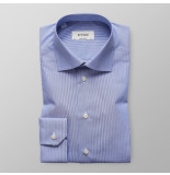 Eton Heren overhemd poplin fijne streep contemporary fit