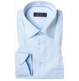 John Miller Heren overhemd licht semi spread poplin borstzak regular fit