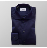 Eton Heren overhemd signature twill slim fit blauw