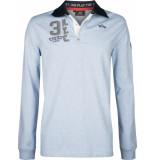 HV Polo Society heren poloshirt licht rugbyshirt tomkins