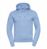 Russell Athletic Hoodie licht capuchon regular fit blauw