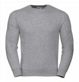 Russell Athletic Heren sweatshirt licht ronde hals regular fit grijs