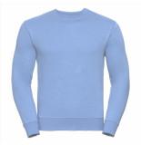 Russell Athletic Heren sweatshirt licht ronde hals regular fit blauw