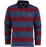 Gant Barstrip heavy rugger 2005051/605 bordeaux