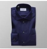 Eton Heren overhemd blauw signature twill classic fit cutaway