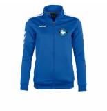 Hummel Valencia top full zip ladies sc purmerland pur108010-5200 blauw