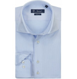 Sleeve7 Heren overhemd licht dobby luxe fijne streep