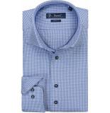 Sleeve7 Heren overhemd kobalt pdp monti
