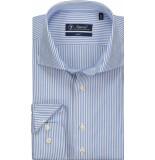 Sleeve7 Heren overhemd licht pinstripe poplin slim fit