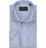 Liefling Heren overhemd penstripe poplin cutaway tailored fit