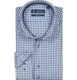 Sleeve7 Heren overhemd kleine ruit twill