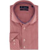 Sleeve7 Heren overhemd allover ruitjes poplin modern fit