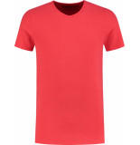 ShirtsofCotton Heren t-shirt basic v-hals