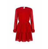 LOFTY MANNER Dress vincenza red rood