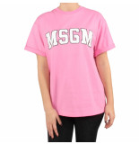 MSGM T-shirt roze