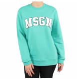 MSGM Felpa groen