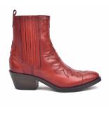 Maria Luz Korte laarzen rood