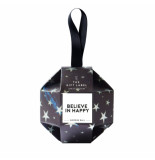The Gift Label Christmas ornament - believe in happy