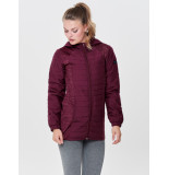Only Play Hills hood long jacket 15154169 rood