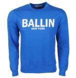 Ballin New York Heren trui sweat blauw