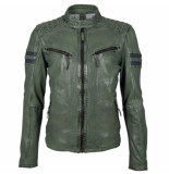 Gipsy Gipsy gbremmy lacav leather jacket groen