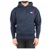 Tommy Hilfiger Tjm tommy badge hoodie blauw