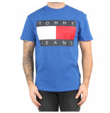 Tommy Hilfiger Tjm tommy flag tee blauw
