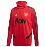 Adidas Manchester united warm top red rood