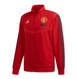 Adidas Manchester united trainingsjack 2019-2020 red rood